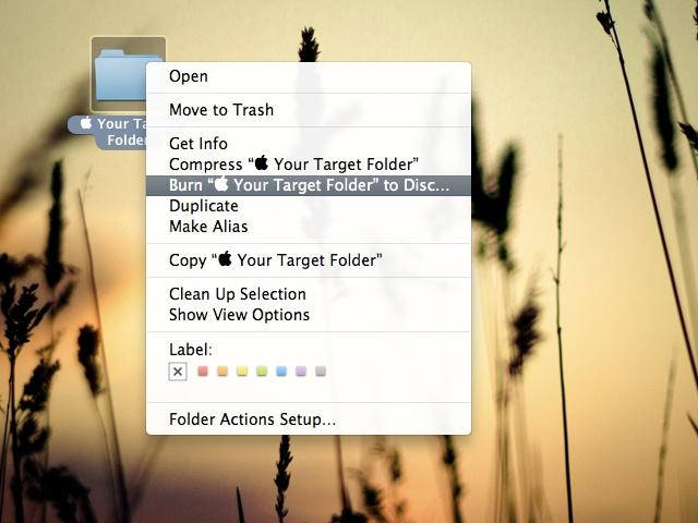 Burn CD on Mac