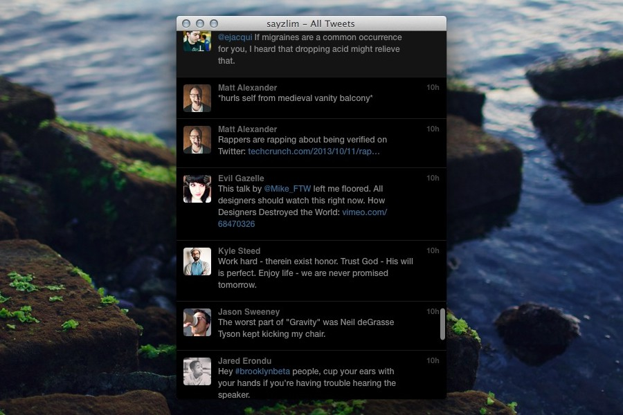 Twitterrific 4 for Mac