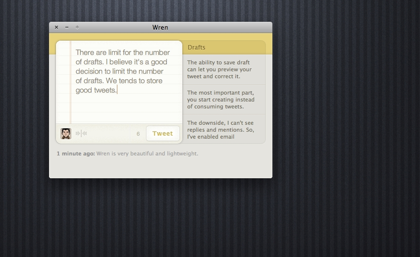 Wren for Mac Preview