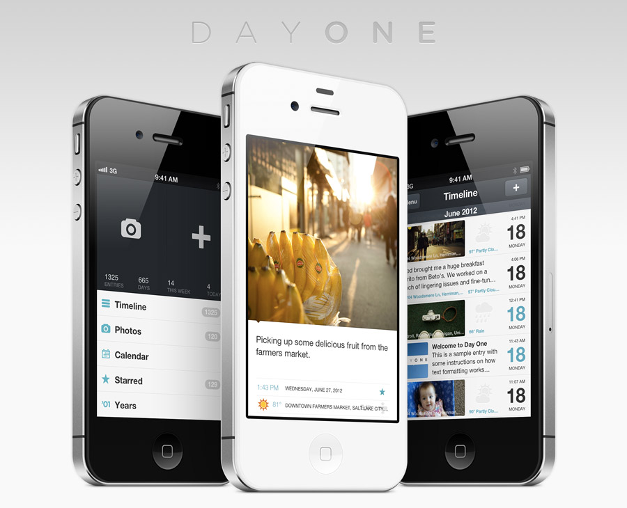Day One for iPhone