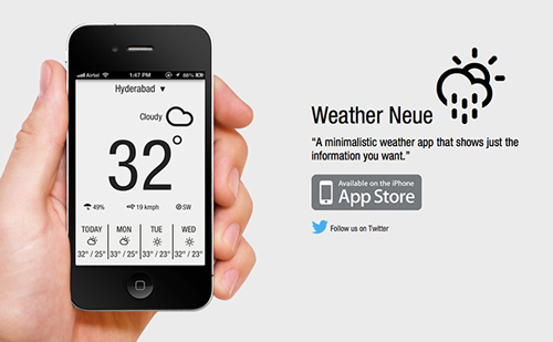 Weather Neue