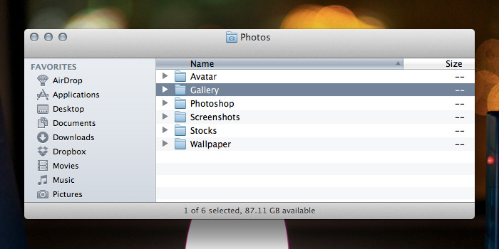 Dropbox Photos Folder Preview