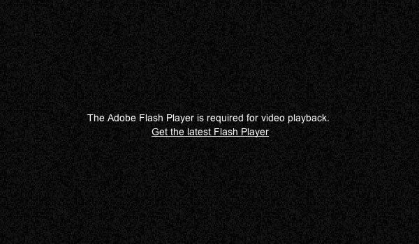 [YouTube Requires Adobe Flash][]