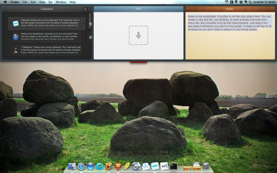 Unclutter for Mac Screenshot