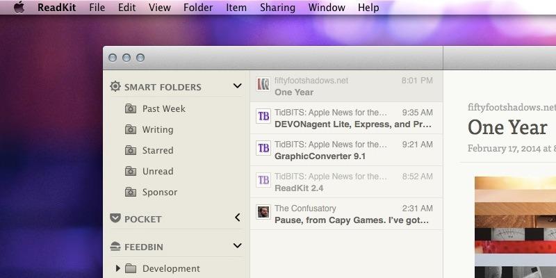 ReadKit 2.4 for Mac