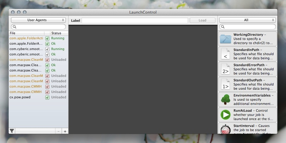 LaunchControl for Mac