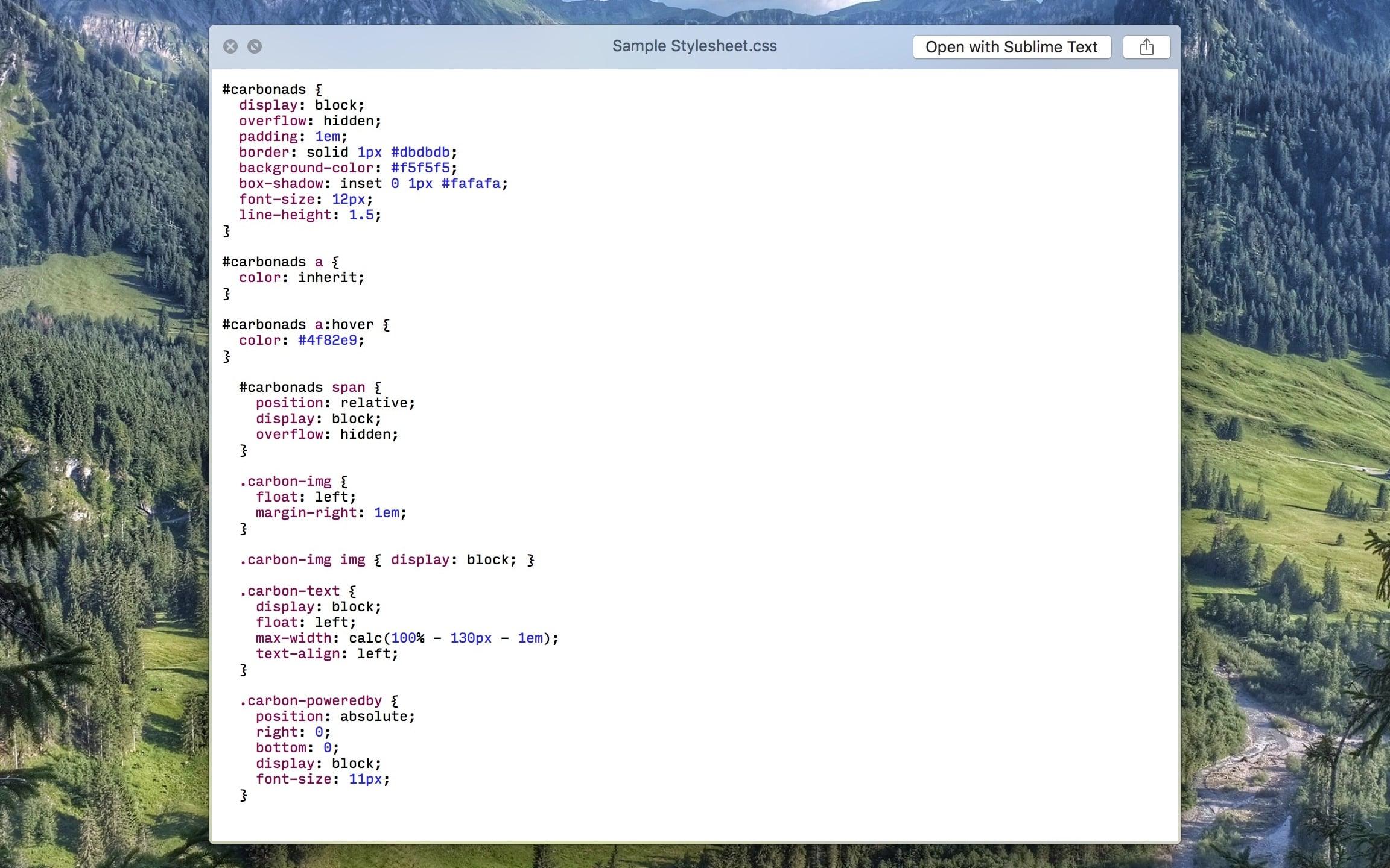 QLColorCode Screenshot